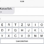 iPhone-Tastatur